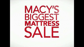 Macy's Biggest Mattress Sale TV Spot, 'Sale of the Season' - Thumbnail 10
