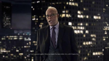 Capital One Quicksilver TV Spot, 'It's a Big World' Feat. Samuel L. Jackson - 3376 commercial airings
