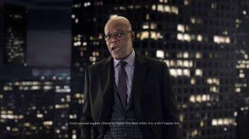 Capital One Quicksilver TV Spot, 'It's a Big World' Feat. Samuel L. Jackson - 3376 commercial airings