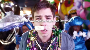 TurboTax TV Spot, 'Mardi Gras: Loud Noise' - Thumbnail 8