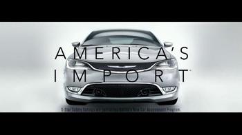 2015 Chrysler 200 TV Spot, 'Swedish Safety, Five Star' - Thumbnail 10