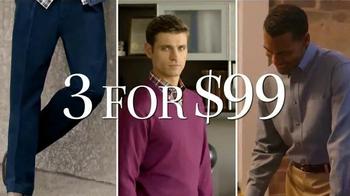 JoS. A. Bank TV Spot, 'Mix & Match 3 For $99' - Thumbnail 3