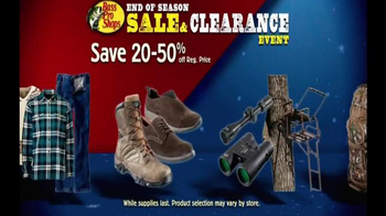 Bass Pro Shops End of Season Sale & Clearance Event TV Spot, 'Great Deals' - Thumbnail 9
