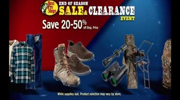 Bass Pro Shops End of Season Sale & Clearance Event TV Spot, 'Great Deals' - 42 commercial airings