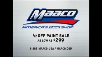 Maaco Half Off Paint Sale TV Spot, 'Uh-oh, Better Get Maaco' - Thumbnail 8