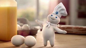 Pillsbury Grands! Flaky Layers TV Spot, 'Eggs & Biscuits'