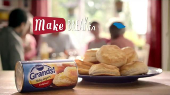 Pillsbury Grands! Flaky Layers TV Spot, 'Eggs & Biscuits' - Thumbnail 9