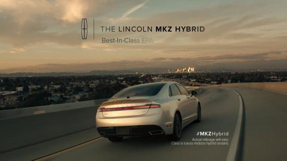 Lincoln Mkz Lease >> 2015 Lincoln MKZ Hybrid TV Commercial, 'Balance' Featuring Matthew McConaughey - iSpot.tv