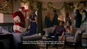 Dunkin' Donuts K-Cup Packs TV Spot, 'Santa Drops By' - Thumbnail 4