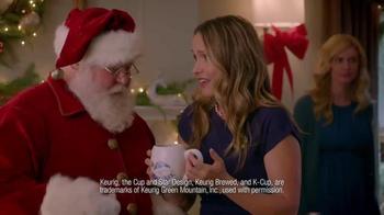 Dunkin' Donuts K-Cup Packs TV Spot, 'Santa Drops By' - Thumbnail 5