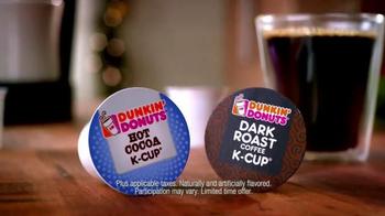 Dunkin' Donuts K-Cup Packs TV Spot, 'Santa Drops By' - Thumbnail 7