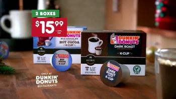 Dunkin' Donuts K-Cup Packs TV Spot, 'Santa Drops By' - Thumbnail 9