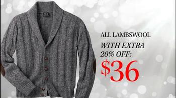 JoS. A. Bank TV Spot, 'Last Minute Sale Sweaters'