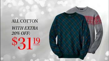 JoS. A. Bank TV Spot, 'Last Minute Sale Sweaters' - Thumbnail 5