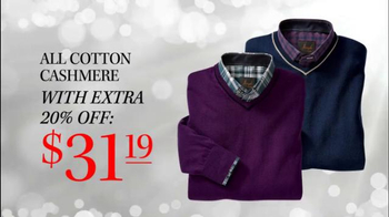 JoS. A. Bank TV Spot, 'Last Minute Sale Sweaters' - Thumbnail 6