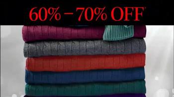 JoS. A. Bank TV Spot, 'Last Minute Sale Sweaters' - Thumbnail 8