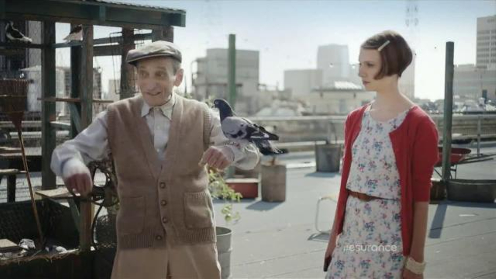 Esurance TV Commercial, 'Monty: Flap Happy'