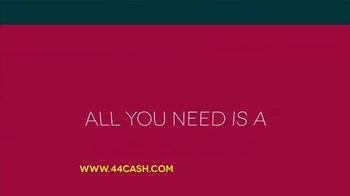 44Cash.com TV Spot, 'Too Many Payday Loans?' - Thumbnail 6