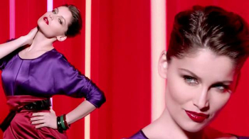 L'Oreal Infallible Pro-Last Lip Color TV Spot, 'Intensify Without the Dry' - Thumbnail 8