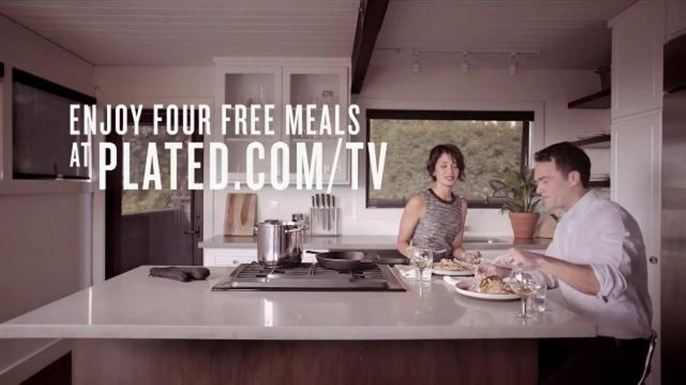 sc 1 st  iSpot.tv & Plated TV Commercial u0027Dinner Delivered to your Door - iSpot.tv