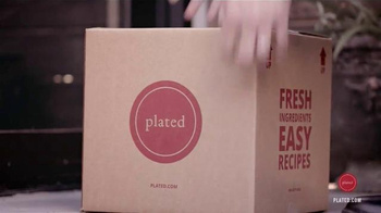 Plated TV Spot, 'Dinner Delivered to your Door - Thumbnail 4