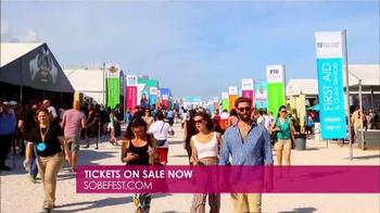 2015 South Beach Wine & Food Festival TV Spot, 'Culinary Stars' - Thumbnail 5
