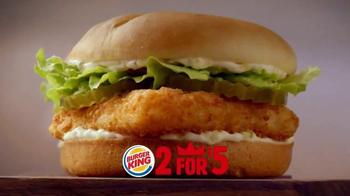 Burger King TV Spot, '2 por $5: Dos Sándwiches' [Spanish] - Thumbnail 3