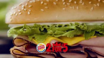 Burger King TV Spot, '2 por $5: Dos Sándwiches' [Spanish] - Thumbnail 4