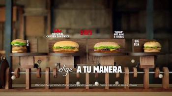 Burger King TV Spot, '2 por $5: Dos Sándwiches' [Spanish] - Thumbnail 7