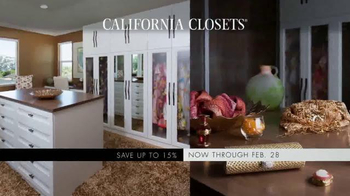 California Closets Winter White Upgrade Event TV Spot, 'Upgrade Each Room' - Thumbnail 3