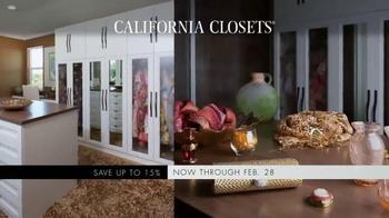 California Closets Winter White Upgrade Event TV Spot, 'Upgrade Each Room' - Thumbnail 4