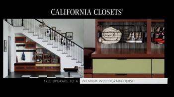 California Closets Winter White Upgrade Event TV Spot, 'Upgrade Each Room' - Thumbnail 7