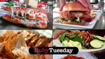 Ruby Tuesday 15 Under $10 TV Spot, 'Burgers, Flatbreads and More' - Thumbnail 1