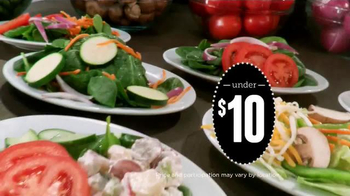 Ruby Tuesday 15 Under $10 TV Spot, 'Burgers, Flatbreads and More' - Thumbnail 9