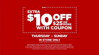 JCPenney Super Saturday Sale TV Spot, 'Big Savings All Day' - Thumbnail 4
