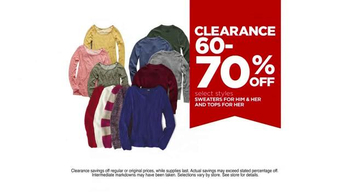 JCPenney Super Saturday Sale TV Spot, 'Big Savings All Day' - Thumbnail 6