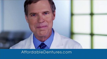 Affordable Dentures TV Spot, '40 Years of Smiles' - Thumbnail 9