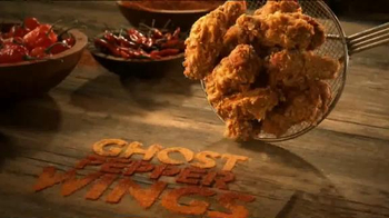 Popeyes Ghost Pepper Wings TV Spot, 'Mystery of the Ghost Pepper' - Thumbnail 4