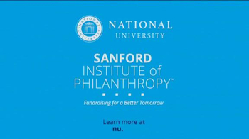 National University TV Spot, 'Philanthropy Begins With a Cause' - Thumbnail 8