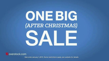 Overstock.com One Big After Christmas Sale TV Spot, 'Holiday Sale' - Thumbnail 5