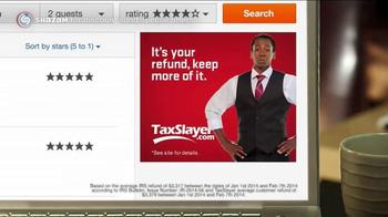 TaxSlayer.com TV Spot, 'Keep Your Refund' - Thumbnail 2