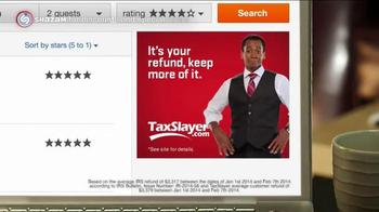 TaxSlayer.com TV Spot, 'Keep Your Refund' - Thumbnail 6