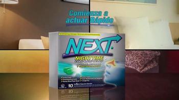 Next Nighttime Cold & Flu Relief TV Spot, 'Noche' [Spanish] - Thumbnail 3