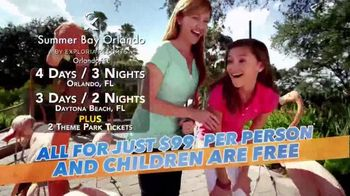 Summer Bay Orlando TV Spot Featuring Wink Martindale