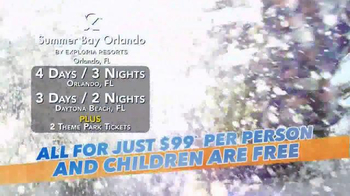 Summer Bay Orlando TV Spot Featuring Wink Martindale - Thumbnail 2