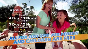 Summer Bay Orlando TV Spot Featuring Wink Martindale