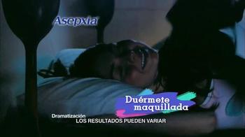 Asepxia Natural Matte Compact Powder TV Spot, 'Dormir maquillada' [Spanish] - Thumbnail 8