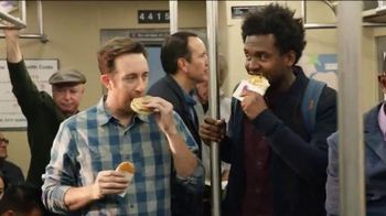 Taco Bell A.M.Steak and Egg Crunchwrap TV Spot, 'Subway'