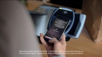 Capital One Wallet and Apple Pay TV Spot, 'Worn Jeans' Song by Ezra Vine - 4487 commercial airings