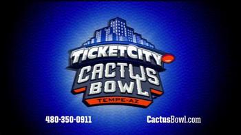 26th Annual TicketCity Cactus Bowl TV Spot, 'Bigger Than Ever' - Thumbnail 2